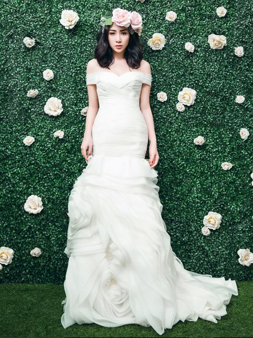Hướng dẫn kết hợp kiểu tóc phù hợp với từng váy cưới