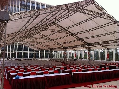 Cho thuê nhà bạt giàn không gian tại Hà Nội