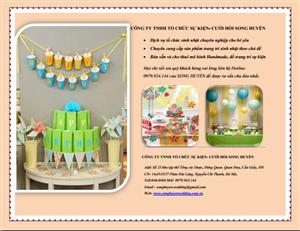 Báo giá gói sinh nhật theo chủ đề