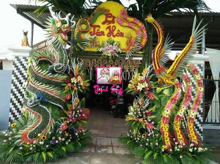 cổng đám cưới đẹp 2019