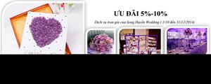 Khuyến mại mùa cưới 2014