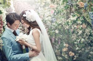 Chiêm ngưỡng bộ ảnh cưới tuyệt đẹp của cặp đôi Hàn Quốc