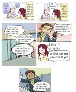 Cười chút thôi với câu chuyện Biết vợ mang thai