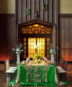 Đám cưới màu xanh ngọc - Đẹp lộng lẫy