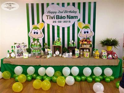 Tổ chức sinh nhật bé Bảo Nam
