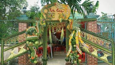 Cổng cưới lá dừa ảnh 1 00000