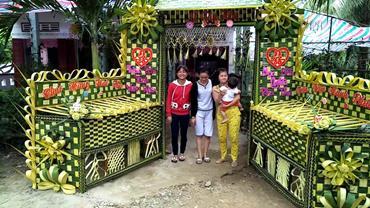 Cổng cưới lá dừa ảnh 1 00001