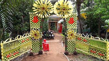 Cổng cưới lá dừa ảnh 1 00002