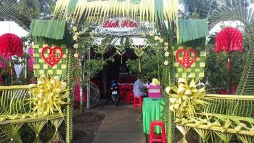 Cổng cưới lá dừa ảnh 1 00005
