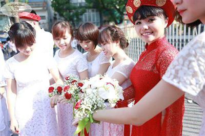 Đám cưới của Nicolas Viau - Thu Hương
