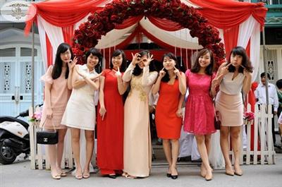 Lễ thành hôn của Trinh Lam - Đức Phúc