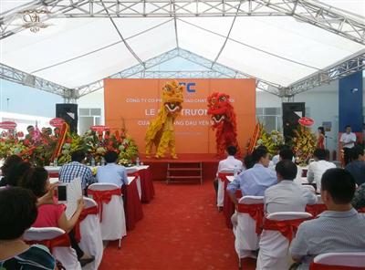 Lễ khai trương - Công ty cp Xăng Dầu Cháy Đốt Hà Nội