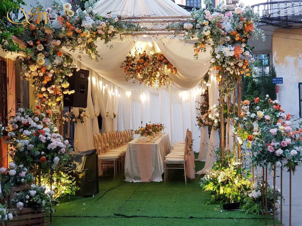 5 phong cách trang trí tiệc cưới sẽ lên ngôi trong năm 2020