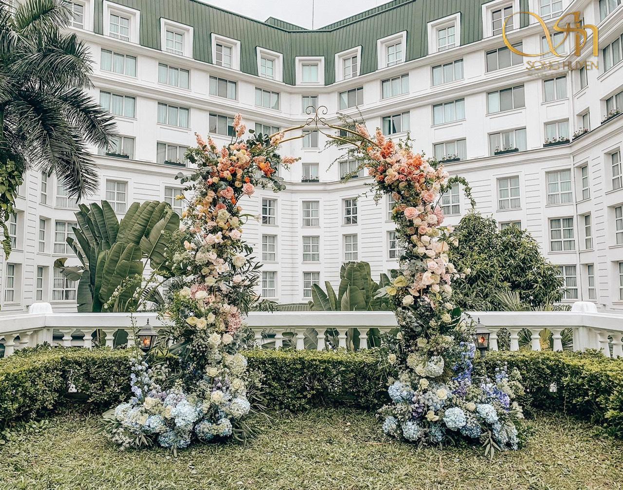 6 màu sắc chủ đạo trong đám cưới được yêu thích nhất