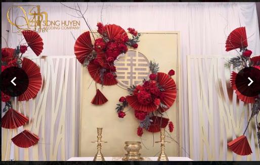 Cách bố trí đồ trên bàn thờ gia tiên trong ngày cưới