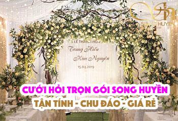 Dịch vụ cưới hỏi trọn gói - tổ chức đám cưới tại Hà Nội