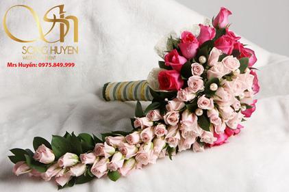 Những mẫu hoa cưới sáng tạo cho cô dâu thích sự phá cách