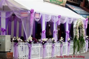 Cho thuê nhà bạt đám cưới tại hà nội