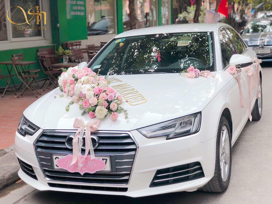 Top 10 mẫu trang trí xe hoa đẹp, sang trọng