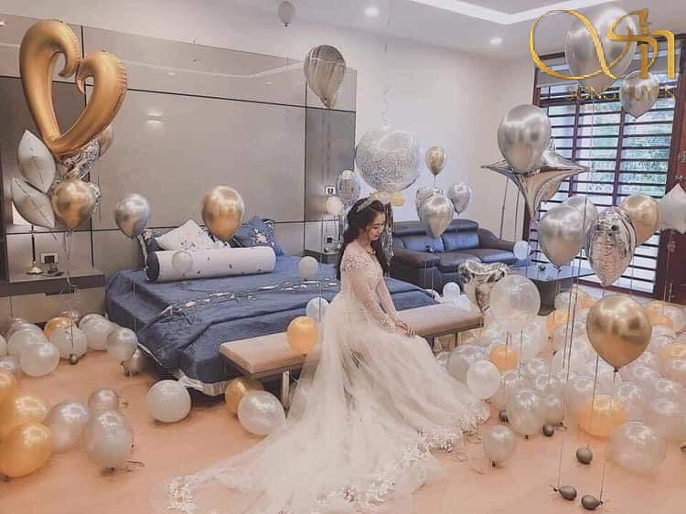 3 cách trang trí phòng tân hôn đơn giản mà lãng mạn