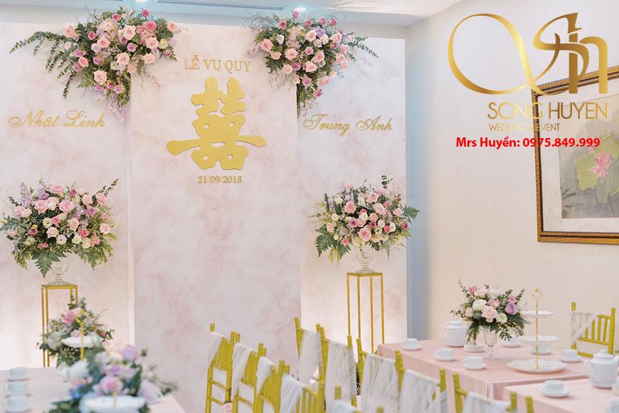 Dịch vụ trang trí đám cưới - tiệc cưới tại nhà