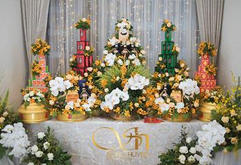 Tráp ăn hỏi 11 lễ Rồng Phượng